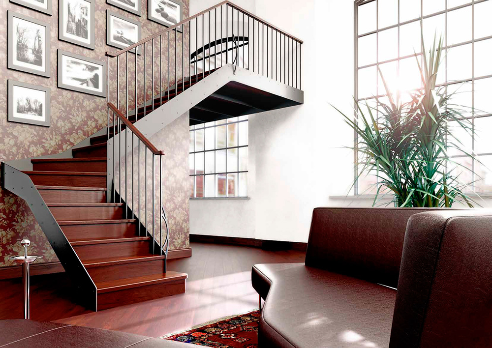 Escaleras de Rampa L20