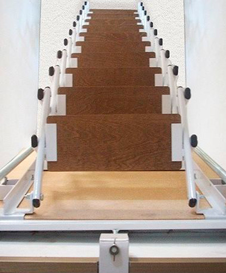 Escaleras Escamoteables
